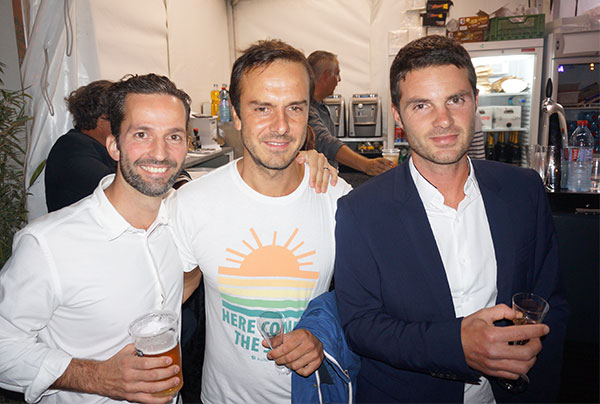 Emeric Bernard, Dimitri Vernet AECO SOLUTION, Fabien Di Miglio