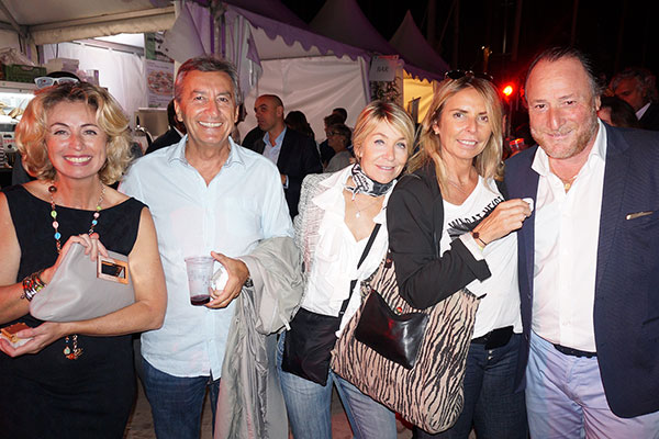 Marie-Adélaïde Boiron, Michel Koch, Valérie Ménager, Joëlle Orlanducci, Maître Mimran