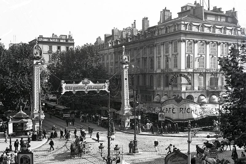 Fernand Detaille, Café Riche, Marseille