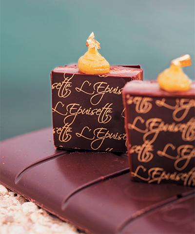 Dessert de l'Epuisette, Sourrieu ©JP Garabedian