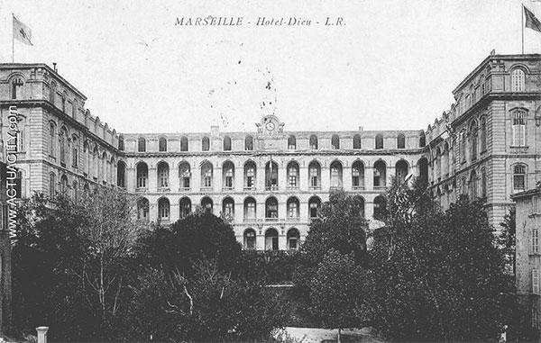 La Longue Histoire Des Hôpitaux Marseillais Toutma
