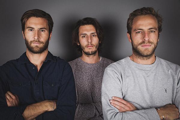 Rodolphe Hessmann, Boris Vassallo et Nils Haagensen