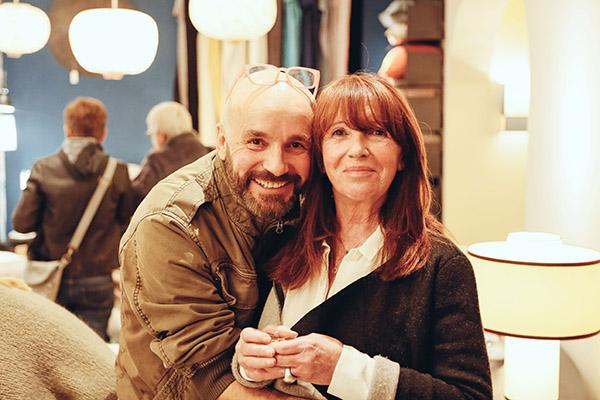 Eric Komon & Roseline Peraldi