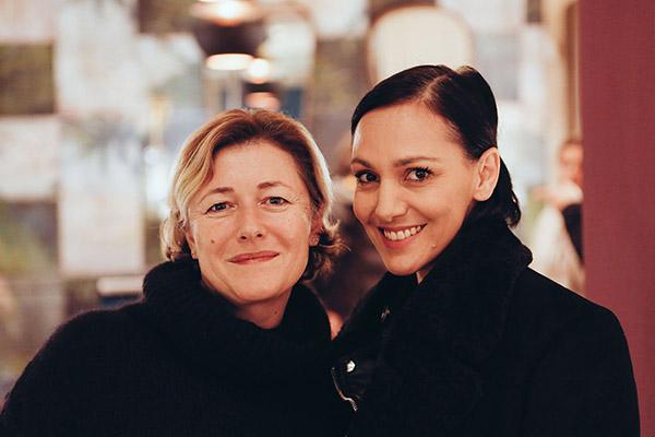 Virginie Dumon & Malika Mokadem