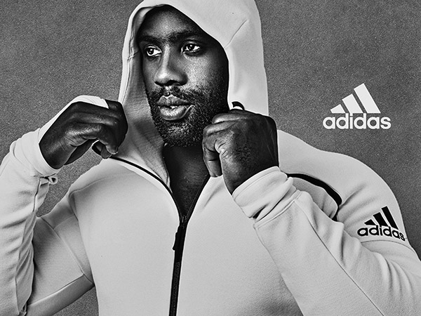 Teddy Riner pour Adidas