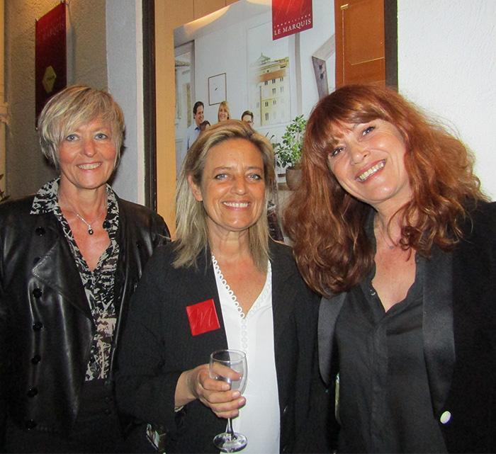 BERTRAND Chantal, DE VILLERS Nathalie, MERABET Sonia (AGENCE LE MARQUIS)