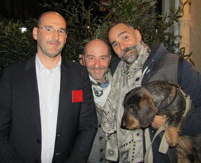 BERTRAND Dider (LE MARQUIS), PSALTIS Pierre, MOURANI Mitri (BOBOBOOM)