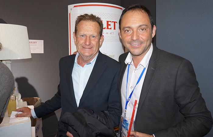 Jean Castelli CERCLE DES NAGEURS DE MARSEILLE & Marc Gimenez RICARD
