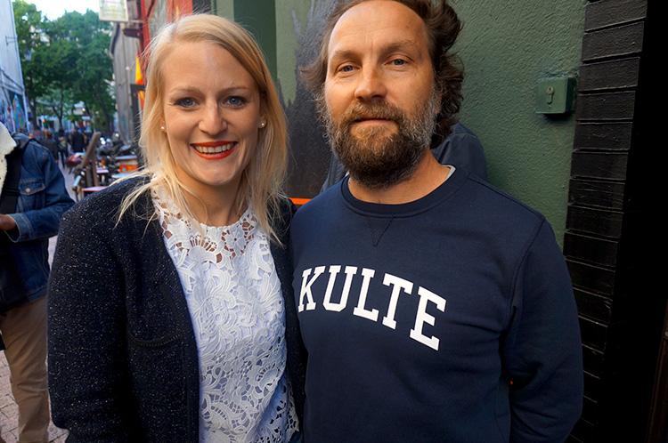 Anna Krader JÄGERMEISTER FRANCE & Matt Gamet KULTE - RIVE DROITE