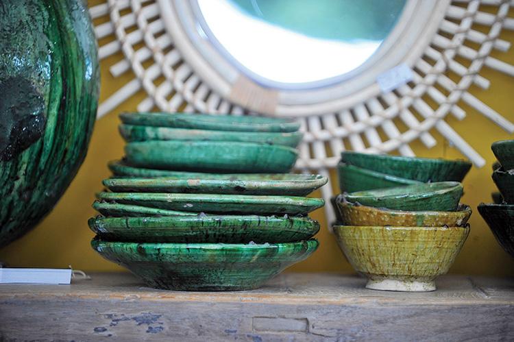 Vaisselle S. Sauvage L'Ane Bleu