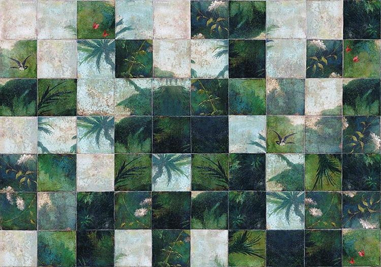 1. Papier peint Wall&Deco chez L'ÂNE BLEU