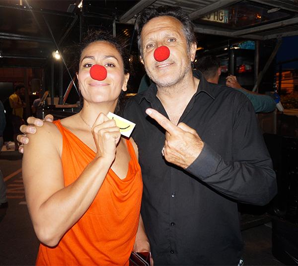 Aïda Salem & Michel La Rosa LE RIRE MEDECIN
