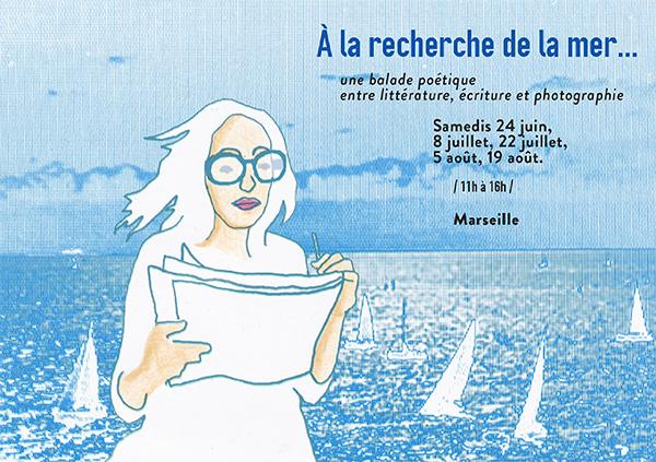 """""""A la recherche de la mer"""" : les balades littéraires"""