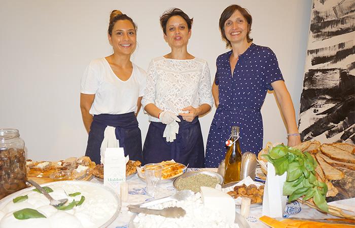 Camille, Charlotte & Julia Sammut ÉPICERIE L'IDÉAL