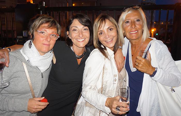 Delphine Servino DREAM MEAT, Magalie Gaillot STATION 7, Sandra Merchica ATPRT, Corinne Joubert ASSOCIATION VOCALIZ