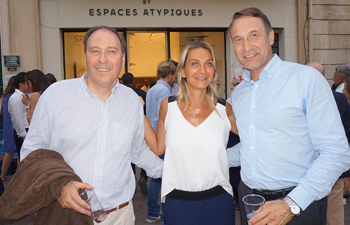 Gabriel Descat UPE 13 , Audrey Bossy COACH & CONSULTANTE, François Latour CABINET FRANÇOIS LATOUR