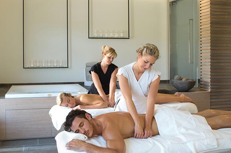 Massages en duo au spa