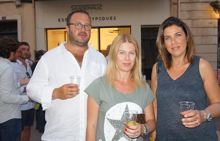 Olivia & Stanislas Gaubert, Karine Aziza BAR À BEAUTÉ