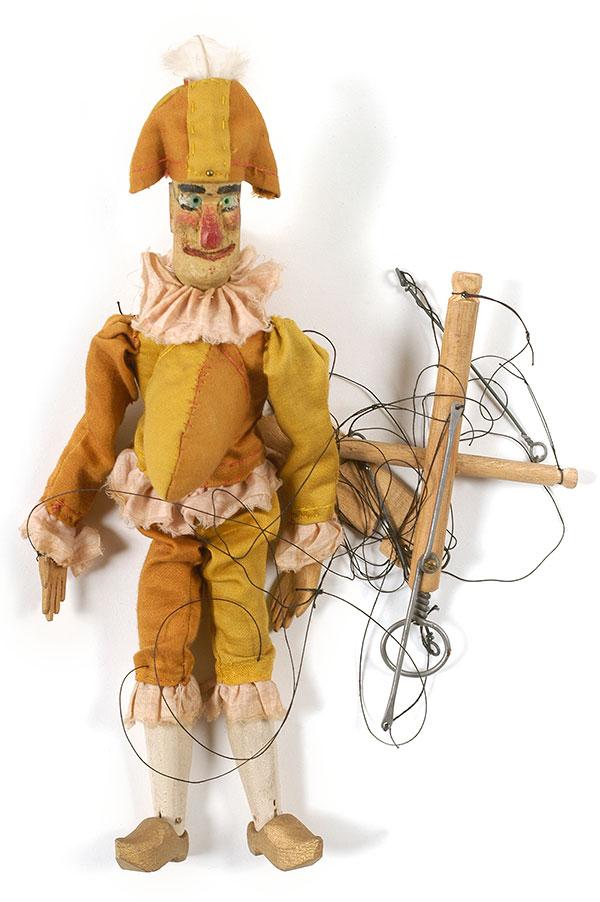 Marionnette Polichinelle ©Mucem