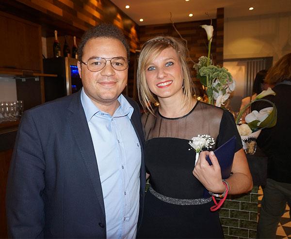 Philippe Paoli NETINVESTISSEMENT  & Perrine Lanoue RADISSON BLU MARSEILLE VIEUX-PORT