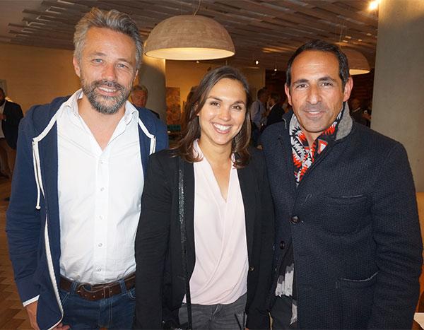 Stéphane Carpentier PIXEL UP, Diane Renaud et Jean Grillo