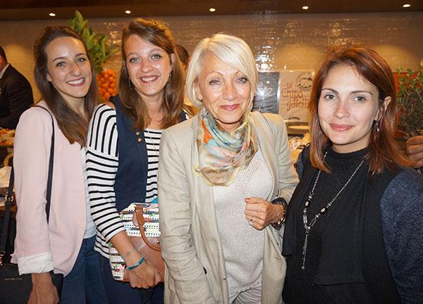 Virginie Brunet, Julie Leclec'h, Danièle Fournier-Sicre et Anouk Rizzo AGENCE ENCORE NOUS