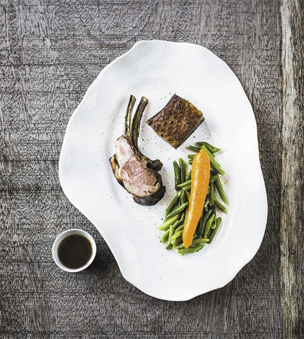 agneau rôti de Sisteron