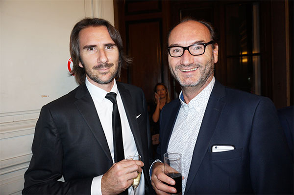 Christophe Saincé EMERSON'S &  Stéphane Guerby AGIR PROMOTION