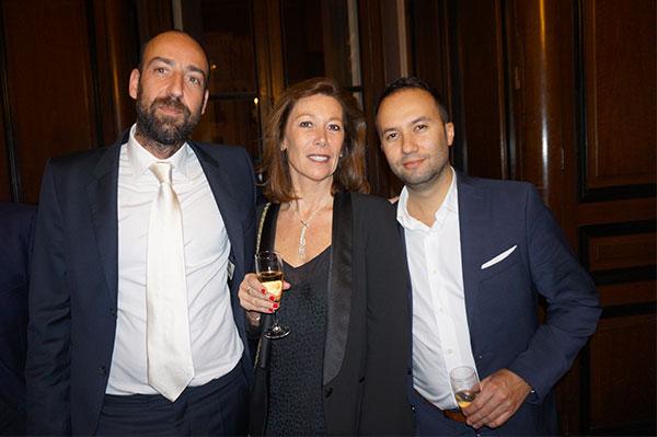 Philippe Manni Espaces Atypiques, Isabelle Jaubert  COGEDIM, Patrick Colonna d'Istria VINCI IMMOBILIER