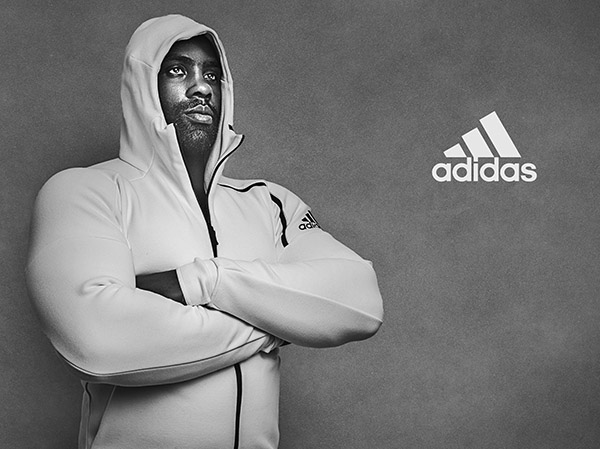 Teddy Riner pour Adidas
