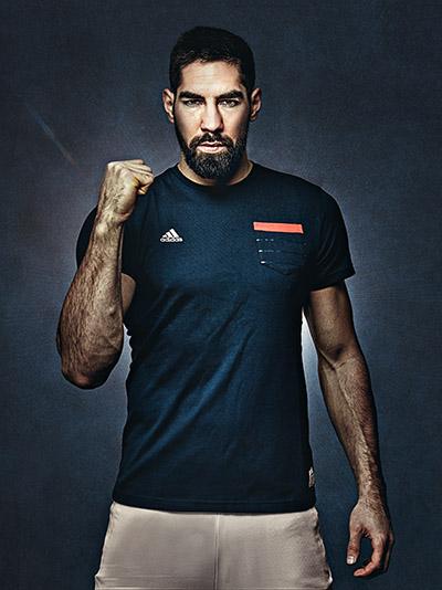 Nikola Karabatic pour Adidas