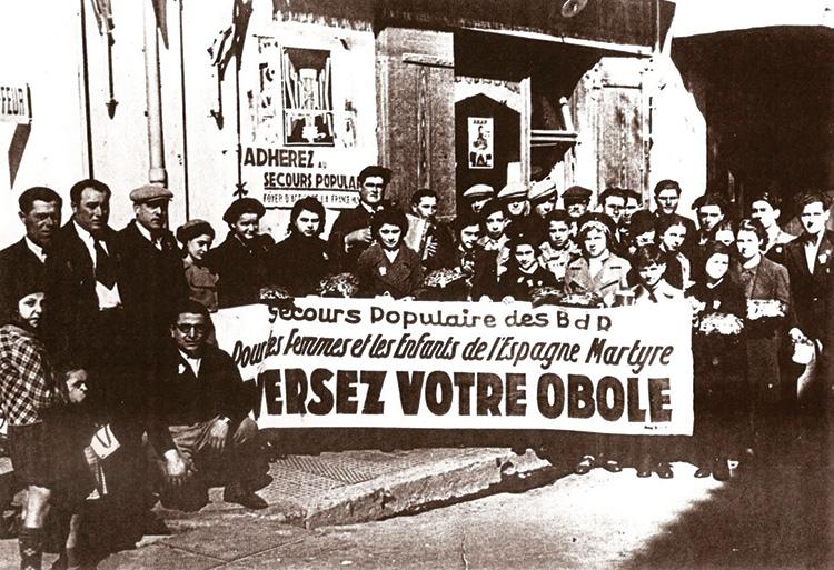 Les Espagnols dans la Résistance en Pays d'Arles.