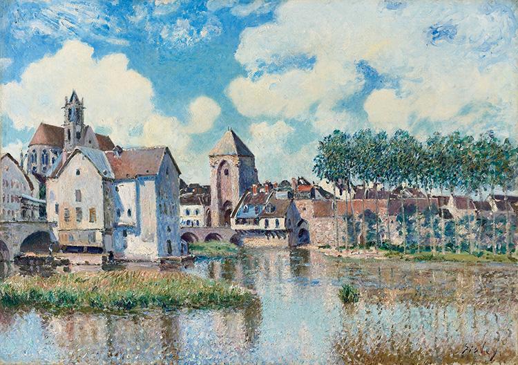 Moret-sur-Loing, collection particuliere
